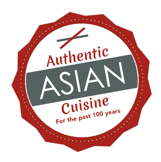 Amoy Authentic Asian Cuisine label for foodservice
